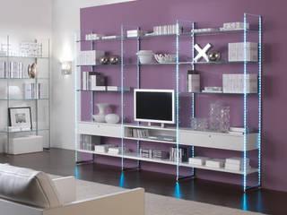 Linea Glassystem di Italvetrine srl Moderno