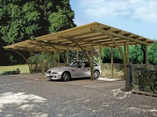 Garajes y galpones de estilo clásico de FRANCE ABRIS : Spécialiste abri de jardin, garage, carport Clásico