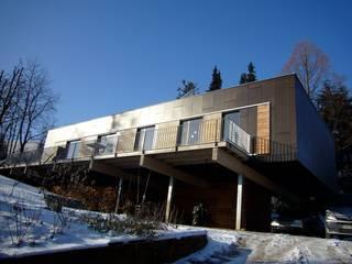 Wohnhaus L Ausgefallene Häuser von plan.G [innenarchitekten] Ausgefallen