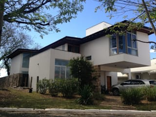 Casas de estilo  de Carla Pagotto Arquitetura e Design Interiores,