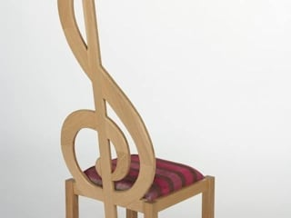 Treble Clef Chair:   by Brocklehurst Furniture
