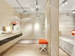 Catarina Batista Studio Modern style bathrooms Ceramic