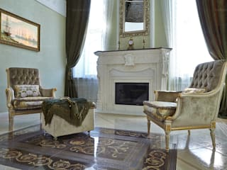 ODEL Classic style living room Marble Beige