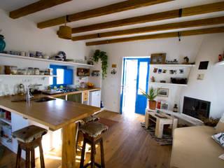 Esszimmer im Landhausstil von xavi requeno Landhaus