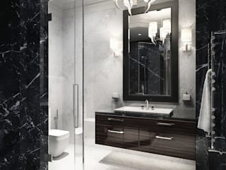 Modern Bathroom by DenisBu Modern