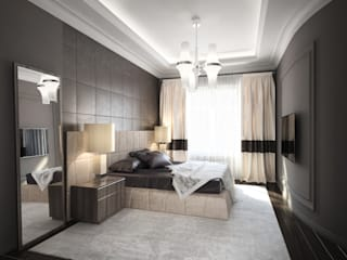 Modern Bedroom by DenisBu Modern