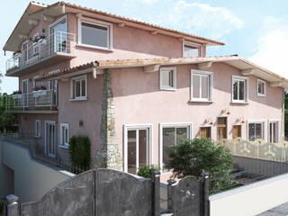 Rendering Immobiliare Roma TF Design & Costruzioni: Case in stile  di Virgo Design