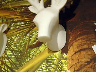 Dekoracja ścienna - wieszak Deer duży marki The Zoo: styl , w kategorii  zaprojektowany przez Sklep Internetowy Kiddyfave.pl