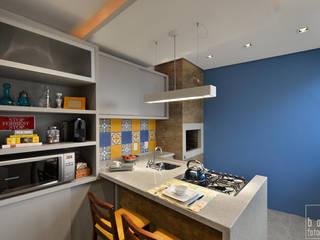 ABHP ARQUITETURA Modern kitchen