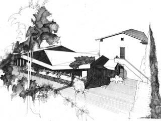 Ristorante Saloon Bar & Club moderni di Studio Tecnico Fanucchi Moderno