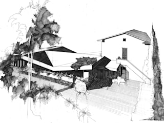 Moderne Bars & Clubs von Studio Tecnico Fanucchi Modern