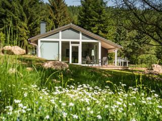 Ferienhaus Lichtung Ferienhaus Lichtung im grünen Herzen Deutschland Moderne Häuser