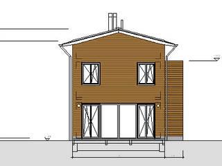 Modern und naturnah: Haus aus Holz Einfamilienhaus in der Eifel, Mendig von PELL Architekten