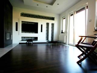 Bednarski - Usługi Ogólnobudowlane Moderne Wohnzimmer