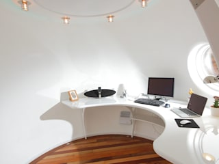 Archipod - Latest Demonstrator Eclectic style study/office by Archipod Eclectic