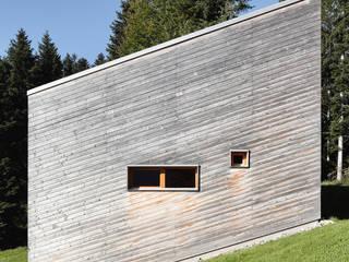 Bienenhus - Fassade aus naturbelassenem Holz: moderne Häuser von Yonder – Architektur und Design