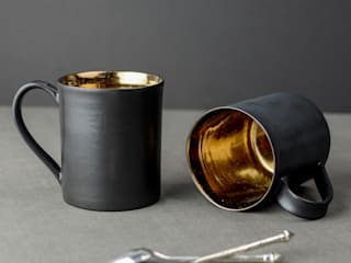 Metallic, Copper and Bronze Glazes for Ceramic Tableware: industrial  by Nom Living, Industrial