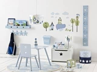 Pokój dziecięcy w stylu skandynawskim - meble i dodatki z kolekcji Niebieskiej marki Kids Concept: styl , w kategorii Pokój dziecięcy zaprojektowany przez Sklep Internetowy Kiddyfave.pl