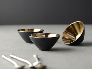 Metallic, Copper and Bronze Glazes for Ceramic Tableware Nom Living KitchenCutlery, crockery & glassware