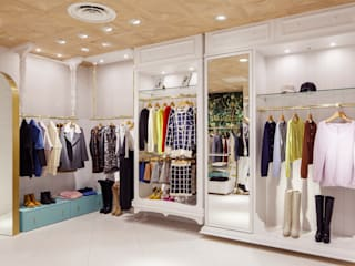 Closets from the ceiling sorama me Inc. Комерційні простори