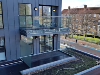 Clapham House, London by MDM GLASS LTD Modern