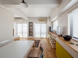 A residence in Shibuya sorama me Inc. Living room