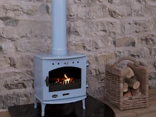 Fantastic Carron Log Burning Stove UKAA | UK Architectural Antiques Study/officeAccessories & decoration