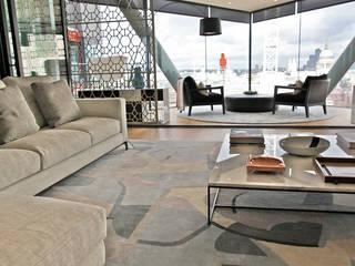 Rugs at Neo Bankside Modern living room by Gideon Hatch Modern