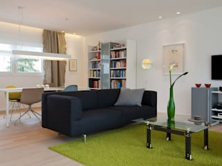 Living room by pur.buero architektur für innen,