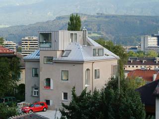 Stadtische villa Moderne Häuser von Architekt Daniel Fügenschuh ZT GMBH Modern