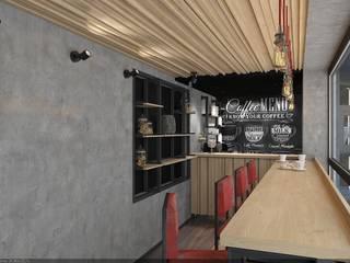 дизайн-студия 'КВАДРАТ' Gastronomie industrielle