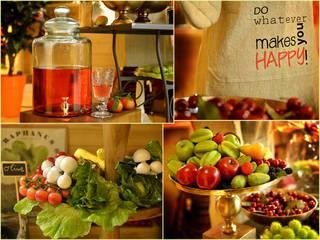 Fruit & vegetables van Groothandel in decoratie en lifestyle artikelen Koloniaal