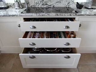 Kitchen details John Ladbury and Company KitchenCabinets & shelves