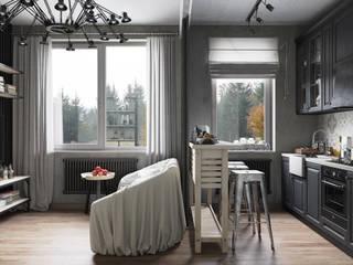 Living room by Denis Krasikov
