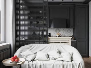 Квартира в стиле пост-модерн Гостиная в стиле лофт от Denis Krasikov Лофт