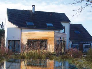Casas de estilo moderno de JPA Architecteurs Moderno