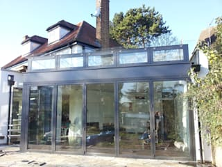 Glass Extension by MDM GLASS LTD Modern
