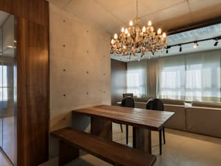 Dining room by Studiodwg Arquitetura e Interiores Ltda. , Modern