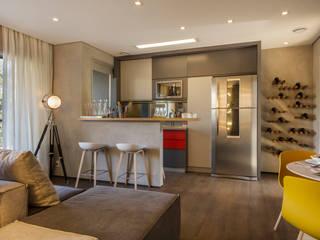 Cocinas de estilo moderno de Studiodwg Arquitetura e Interiores Ltda. Moderno