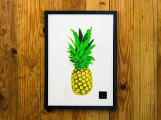 PINEAPPLE SERIES #01:   von I Print Pineapples