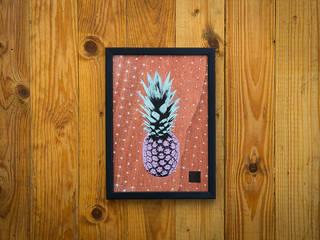 PINEAPPLE SERIES #08:   von I Print Pineapples