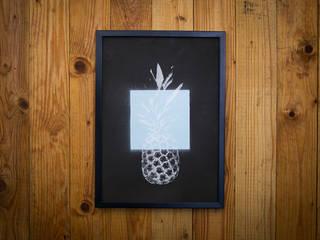 PINEAPPLE SERIES #12: modern  von I Print Pineapples,Modern