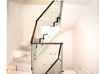 Fulham - 40 luxury townhouses: modern  by Smet UK - Staircases, Modern