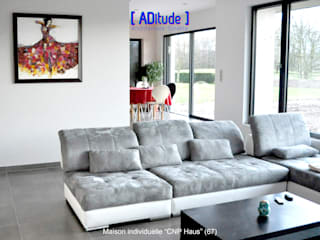 Modern Living Room by [ADitude*] Architecture Modern