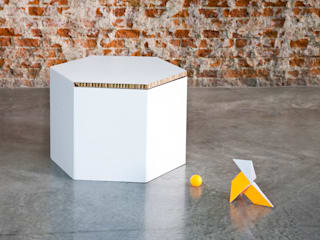 HEXA de CARDBOARD FURNITURE AND PROJECTS Moderno