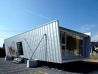 ボートハウスの外観: 土居建築工房が手掛けた家です。