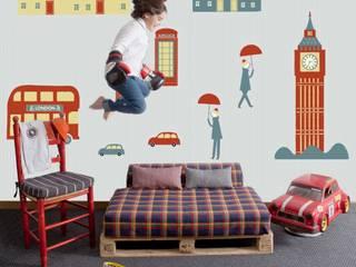 Cosas Minimas Mural ref 2300101: modern  by Paper Moon, Modern
