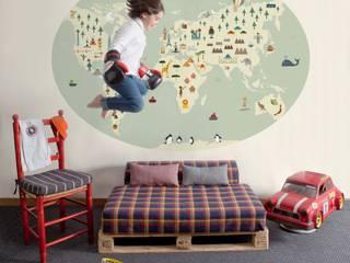 Cosas Minimas Mural ref 2300104: modern  by Paper Moon, Modern