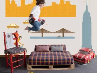 Cosas Minimas Mural ref 2300102: modern  by Paper Moon, Modern
