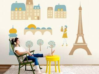 Cosas Minimas Mural ref 2300103: modern  by Paper Moon, Modern